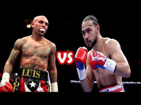 Luis Collazo Keith Thurman Vs Luis Collazo Boxing Match Preview TSM PLUG