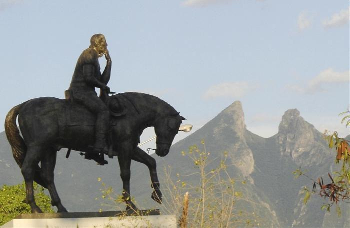 Luis de Carvajal y de la Cueva Monumento a Luis Carvajal y de la Cueva Monterrey