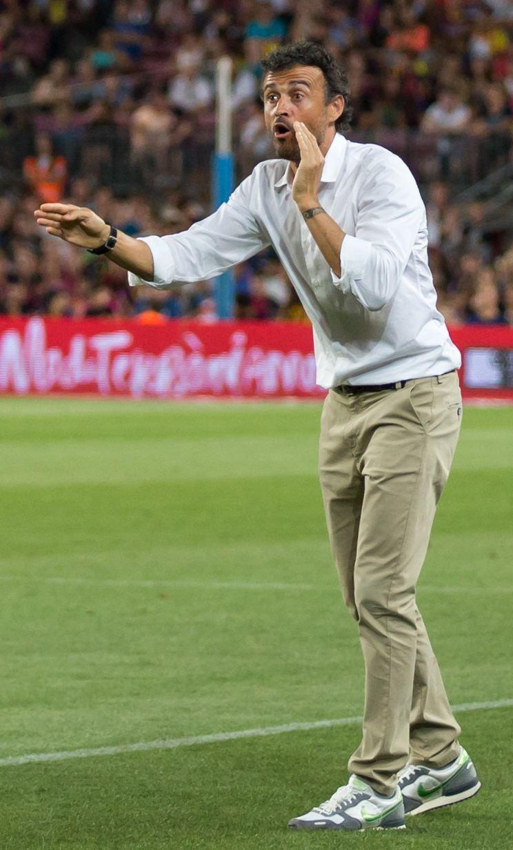 Luis Enrique (footballer) Luis Enrique footballer Wikipedia the free encyclopedia