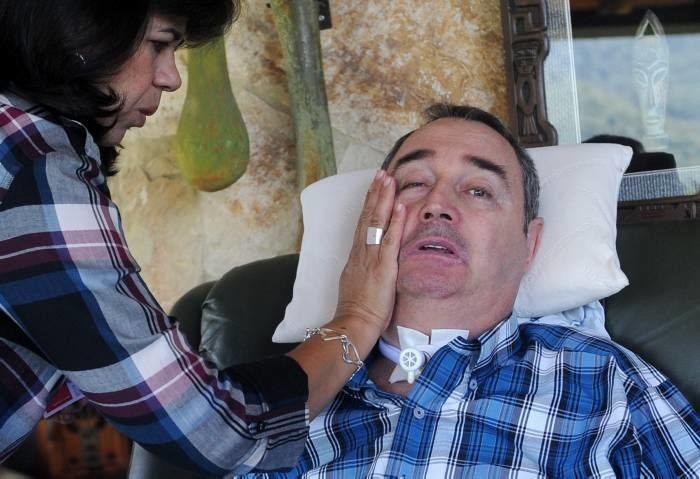 Luis Fernando Montoya Usted cree que yo aqu postrado sin poder abrazar a mi
