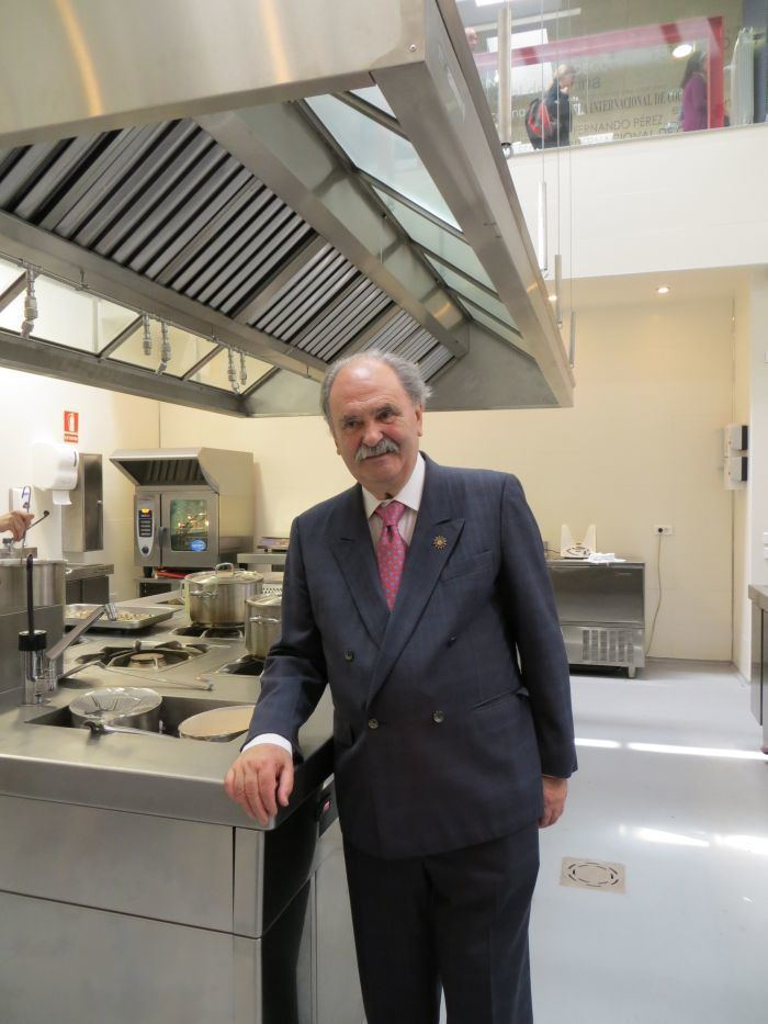 Luis Irizar Chef Luis Irzar International School of Culinary Arts