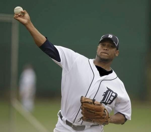 Luis Marte Luis Marte first career start for Detroit Tigers