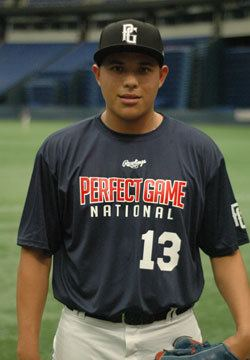 Luis Ortiz (pitcher) Luis Ortiz Player Events Perfect Game USA