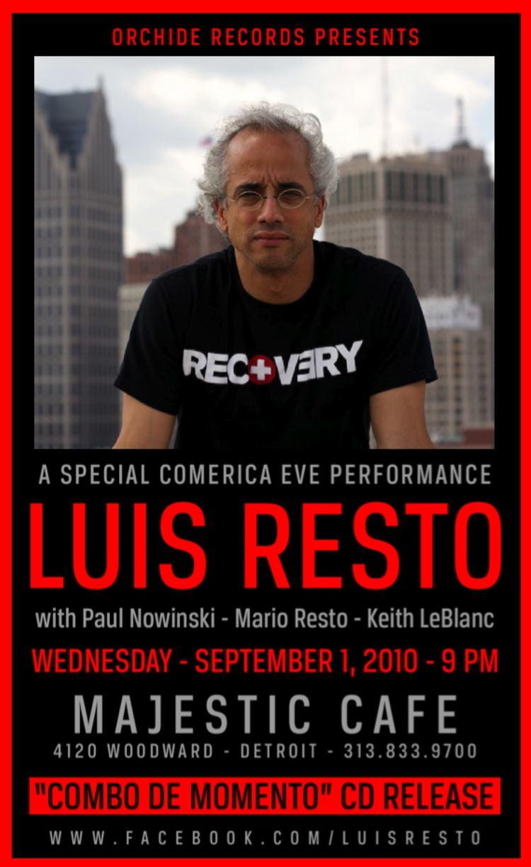 Luis Resto (musician) MOTORCITYBLOG MORE FREE TICKETS Luis Resto Majestic