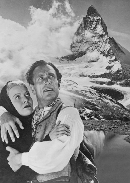Luis Trenker Der Berg ruft Bilder Cinemade