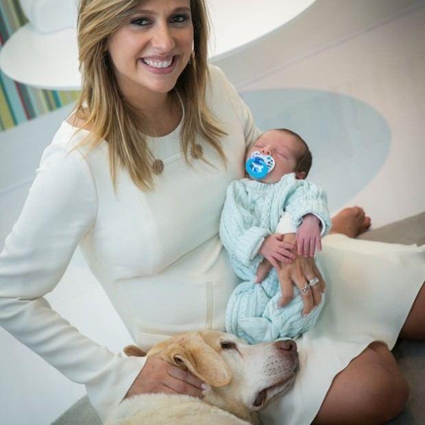 Luisa Mell EGO Luisa Mell posa com o filho e informa 39Babyboy