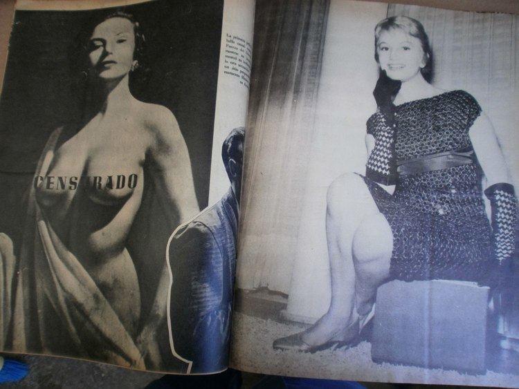 Luisa Peluffo Ana Luisa Peluffo Revista Completa Dedicada A Ella Mex 196