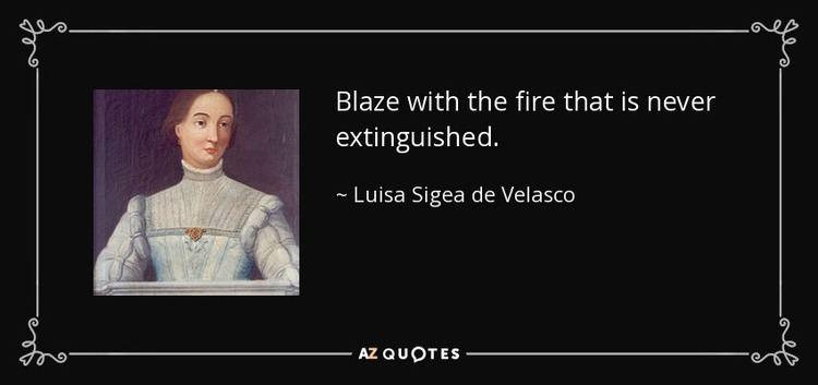 Luisa Sigea de Velasco QUOTES BY LUISA SIGEA DE VELASCO AZ Quotes