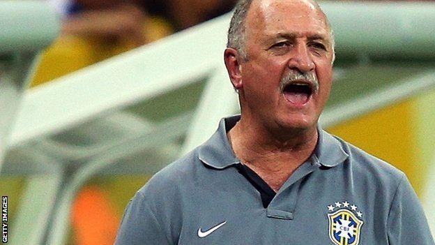 Luiz Felipe Scolari BBC Sport Brazil boss Luiz Felipe Scolari says win could