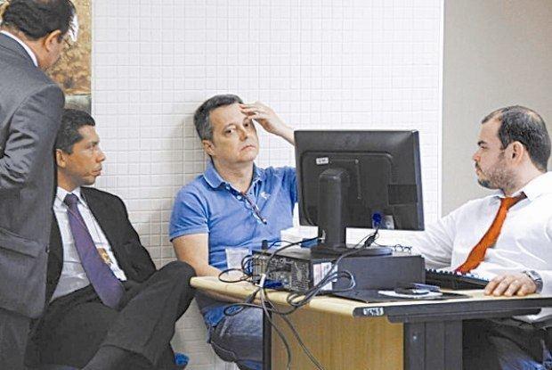 Luizinho Drummond Filho de Luizinho Drumond preso em condomnio no Par