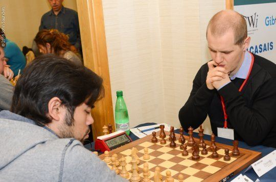 Luka Lenič Gibraltar 07 Anand loses Anton leads ChessBase