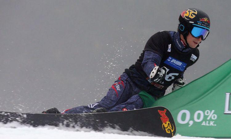 Lukas Mathies Snowboard Lukas Mathies gewann Weltcup in Rogla
