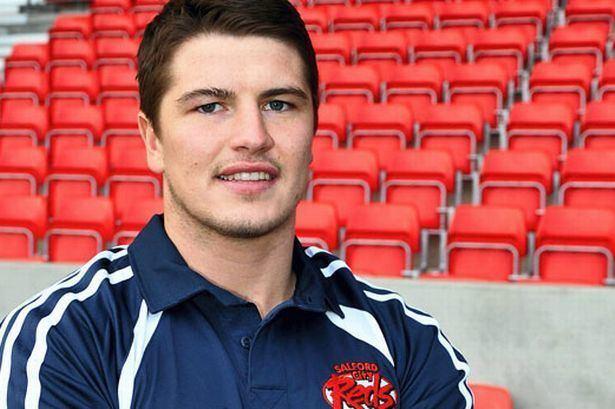 Luke Adamson Luke Adamson is keen to return to Salford Reds