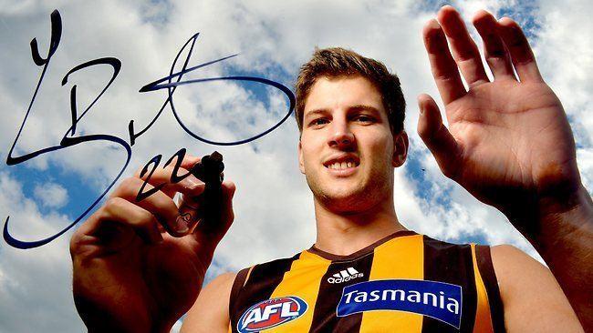 Luke Breust Luke Breust to stay a Hawk after signing new twoyear deal