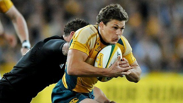 Luke Burgess (rugby union) Luke Burgess signs with Australian Rugby Union and