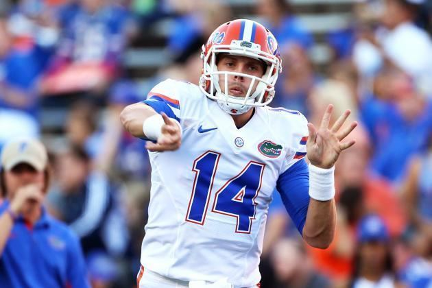 Luke Del Rio Luke Del Rio Makes Case to Be Florida39s Starting QB in Spring Game