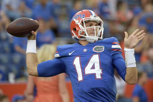 Luke Del Rio Luke Del Rio Injury Updates on Florida QB39s Knee and Return