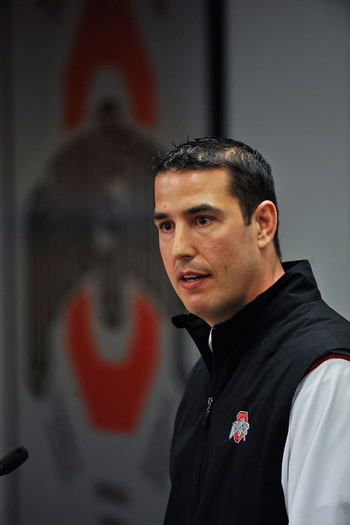 Luke Fickell Luke Fickell Photos Ohio State Spring Football Preview