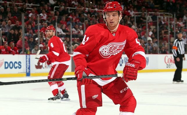 Luke Glendening Detroit recalls Luke Glendening Detroit Red Wings