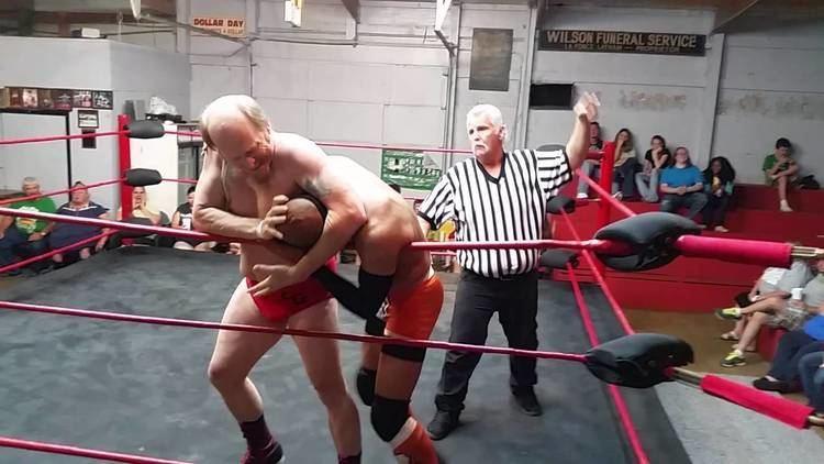 Luke Graham (wrestler) Crazy Luke Graham Jr Vs Mike Anthony at MCW 51316 YouTube