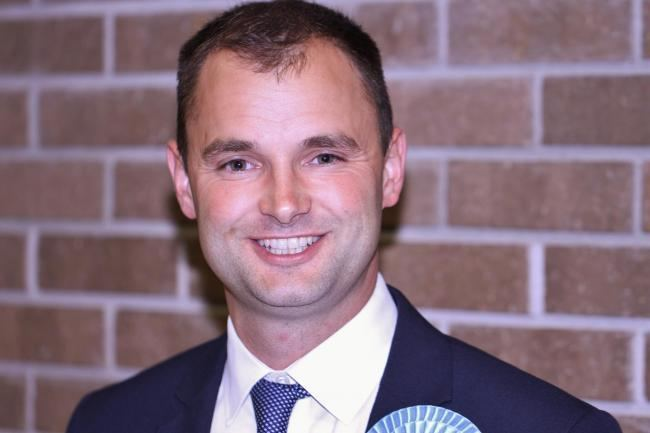 Luke Hall (politician) Luke Hall reelected as MP for Thornbury and Yate From Gazette Series