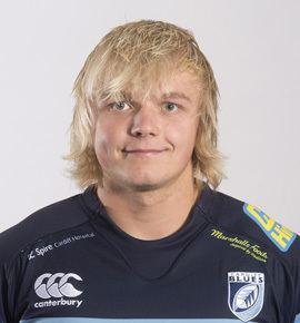 Luke Hamilton 1st Team Squad Squad Cardiff Blues