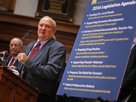 Luke Kenley Sen Luke Kenley key architect of state budget to retire Sept 30