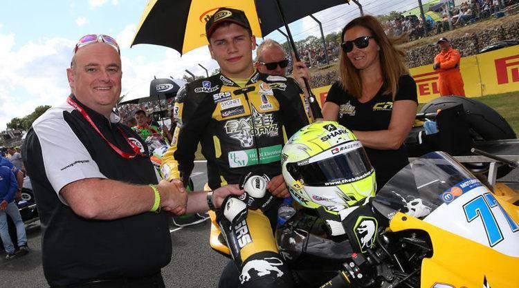 Luke Mossey Superbike rider Luke Mossey Brands Hatch RG Rookie of the Meeting