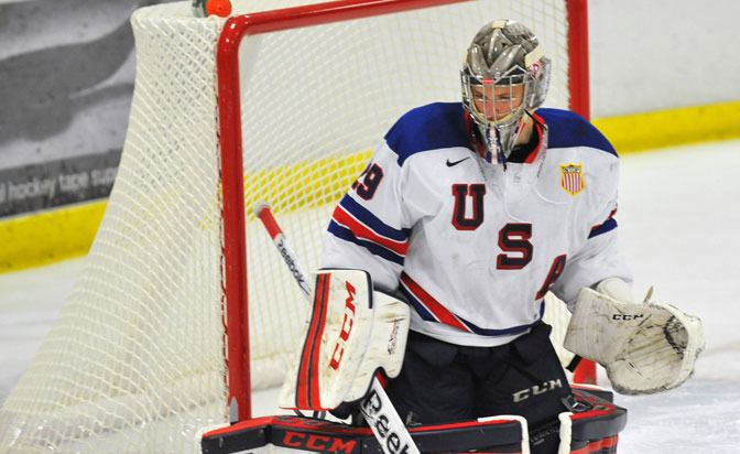 Luke Opilka Luke Opilka39s switch to goalie turned him into top 2015