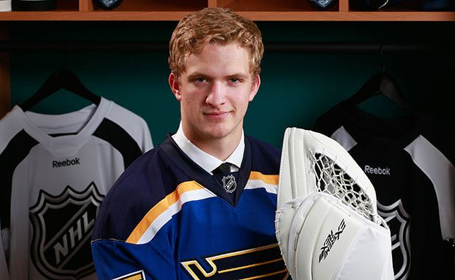 Luke Opilka Opilka Signs 3Year Entry Level Deal St Louis Blues News