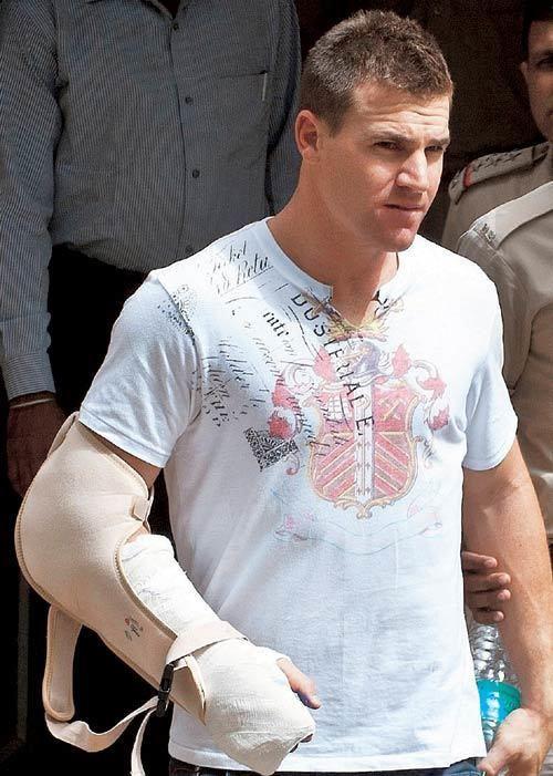 Luke Pomersbach The ugly face of IPL5
