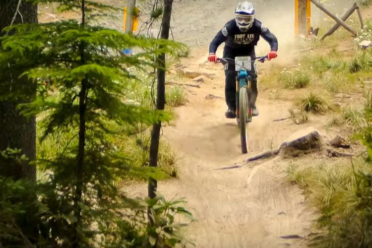Luke Strobel Video Luke Strobel wins a DH Race on a 29 Trail Bike ENDURO