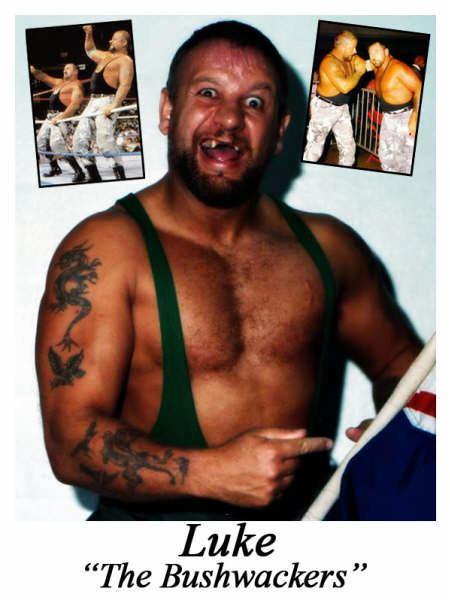 Luke Williams (wrestler) Bushwacker Luke Gerwecknet