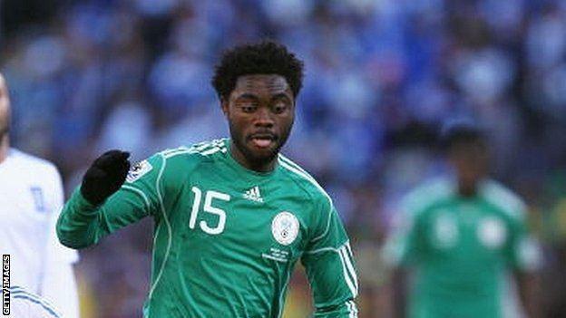 Lukman Haruna BBC Sport Lukman Haruna hopeful over Nigeria World Cup