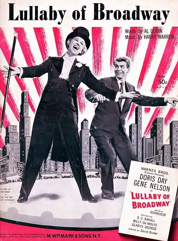 Lullaby of Broadway (film) Doris Day Gordon MacRae Gene Nelson Lullaby of Broadway 1951