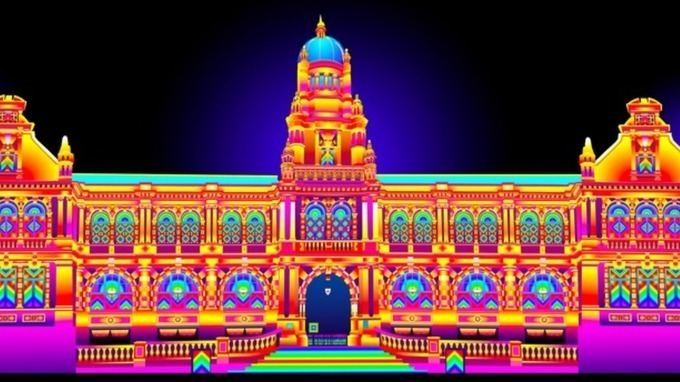 Lumiere festival Durham transformed by light festival Lumiere Tyne Tees ITV News