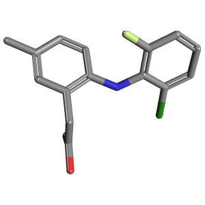Lumiracoxib Lumiracoxib C15H13ClFNO2 PubChem
