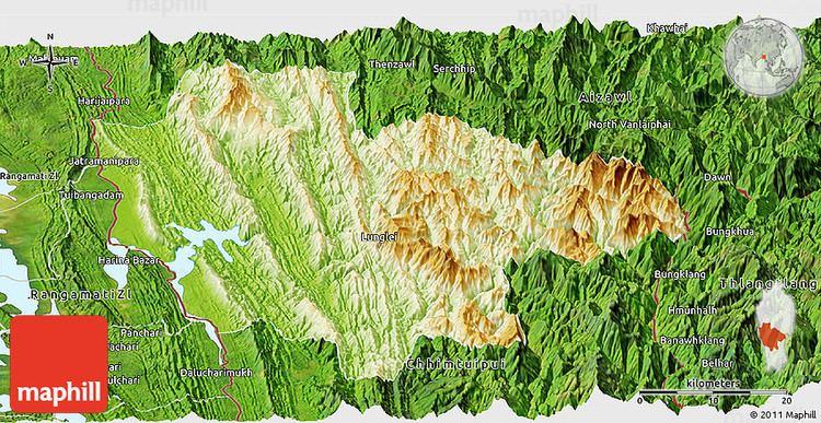Lunglei Beautiful Landscapes of Lunglei