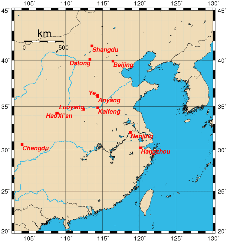 Luoyang in the past, History of Luoyang