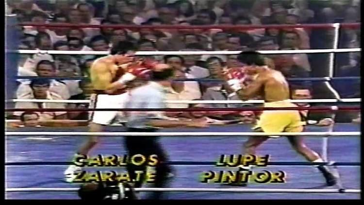 Lupe Pintor CARLOS ZARATE VS GUADALUPE LUPE PINTOR 15 YouTube