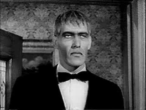 Lurch (The Addams Family) Lurch From The Addams Family Through The Glass YouTube