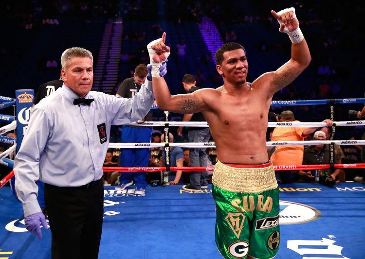 Luís Arias (boxer) Throne Boxing Roc Nation dustin fleischer