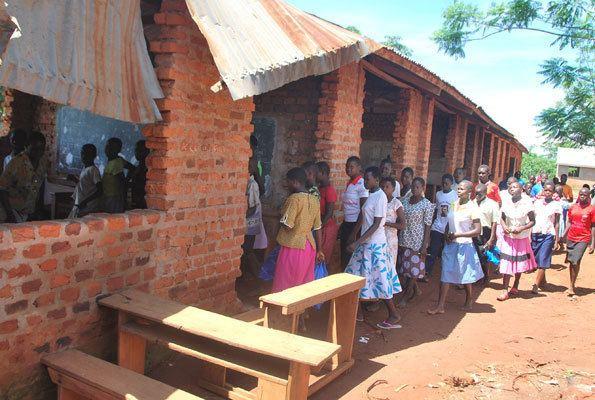 Luuka District Battle for a school meal A Luuka District schools unique