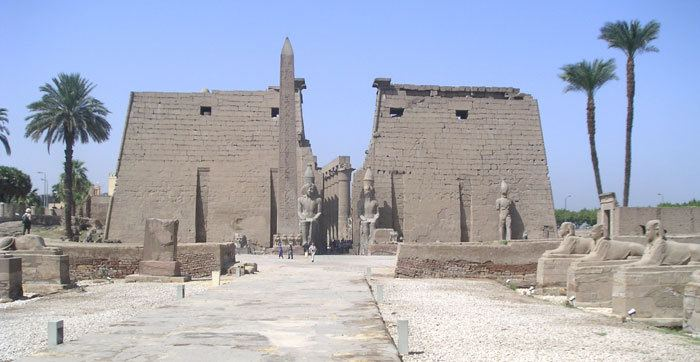 Luxor in the past, History of Luxor