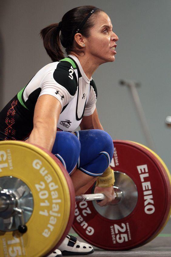 Luz Acosta Luz Acosta Mexican Olympic weightlifting competitor POR FIN