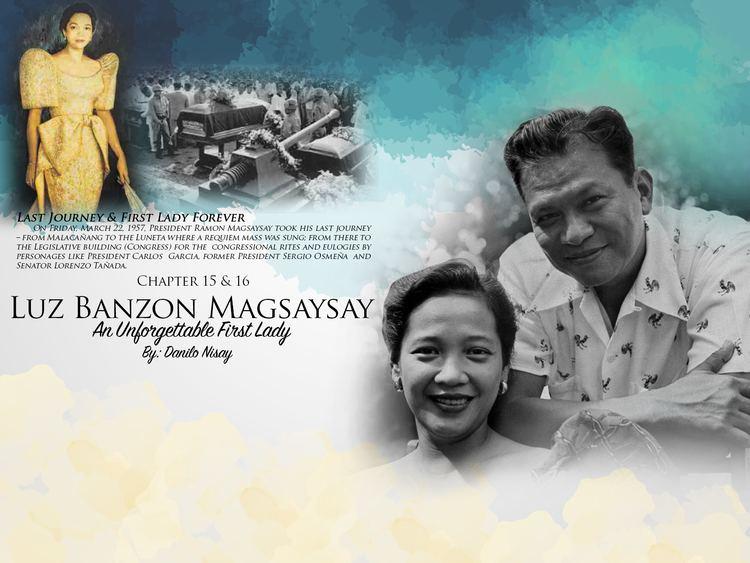 Luz Magsaysay Luz Banzon Magsaysay Chapters 15 16 1Bataan