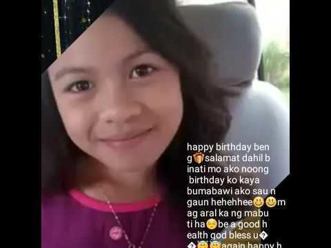 Lyca Gairanod A 12 birthday of Lyca Jane Gairanod wew YouTube