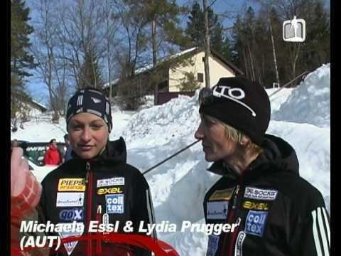 Lydia Prugger Dammkarwurm 2009 Interview mit Michaela EsslLydia Prugger YouTube