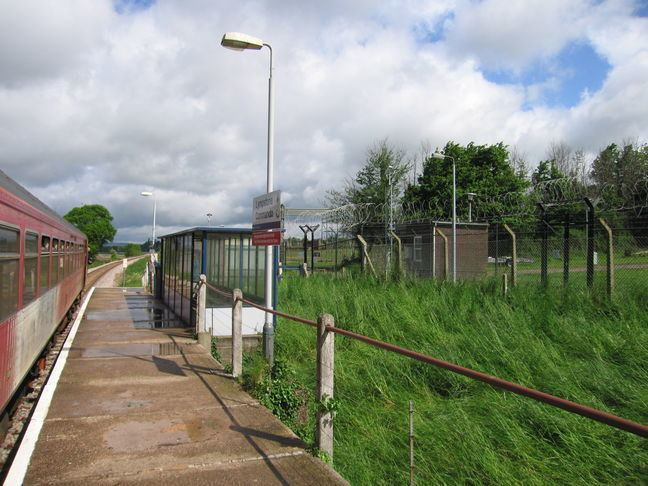 Lympstone Commando railway station