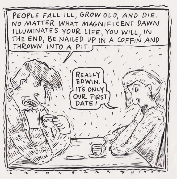 Lynda Barry How NonArtists Can Draw Comics Great On